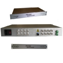 ECOLAN - Ecolan 16 Port Video Coax Fiber Çevirici Datalı Set.