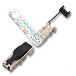 ECOLAN - Ecolan Cat 6a Rj45 K.Jack Konnektör 10Gb Uyumlu.