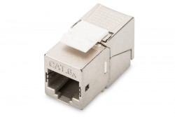 DIGITUS - Digitus Cat 6a Keystone Jack, Shielded, 500 Mhz, Tool Free Connection.