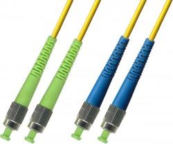 OEM - Oem Fo. Duplex P.Cord Fc(Apc)/Fc Sm 9/125µ 10 Mt.