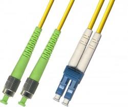 OEM - Oem Fo. Duplex P.Cord Fc(Apc)/Lc Sm 9/125µ 1 Mt.