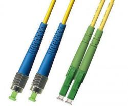 OEM - Oem Fo. Duplex P.Cord Lc(Apc)/Fc Sm 9/125µ 2 Mt.