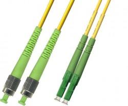 OEM - Oem Fo. Duplex P.Cord Lc(Apc)/Fc(Apc) Sm 9/125µ 1 Mt.