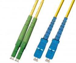 OEM - Oem Fo. Duplex P.Cord Lc(Apc)/Sc Sm 9/125µ 2 Mt.