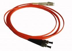 OEM - Oem Fo. Duplex P.Cord Lc/Fc Mm 50/125µ 10 Mt.