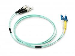 OEM - Oem Fo. Duplex P.Cord Lc/Fc Om3 50/125µ 1 Mt.