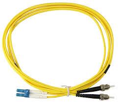 OEM - Oem Fo. Duplex P.Cord Lc/St Sm 9/125µ 5 Mt.