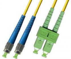 OEM - Oem Fo. Duplex P.Cord Sc(Apc)/Fc Sm 9/125µ 5 Mt.