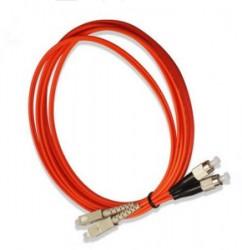 OEM - Oem Fo. Duplex P.Cord Sc/Fc Mm 50/125µ 1 Mt.
