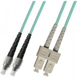 OEM - Oem Fo. Duplex P.Cord Sc/Fc Om3 50/125µ 7 Mt.