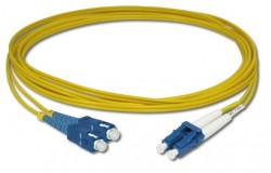 OEM - Oem Fo. Duplex P.Cord Sc/Lc Sm 9/125µ 3 Mt.