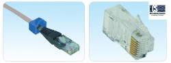 HCS - Hcs J5E-00803 Utp Rj-45 Cat5e Plug, Konnektör