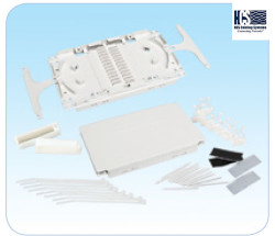 HCS - Hcs KFO-00022 DataLight Fiber Optic Splice Connecting Kit (24 ports) Ek Kaseti