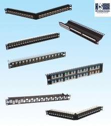 HCS - Hcs P00-02420-1U 24 Port Cat6 Ftp 19'' Boş Data Patch Panel