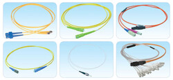 HCS - HCS T54-M0211-10 Fiber Optik Duplex Patch Cord Lszh ST/ST MM 50/125 1mt Om3