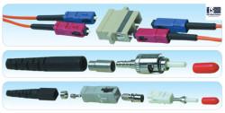 HCS - Hcs VFO-27201A DataLight LC Duplex Adapter Coupler Aqua MM OM3