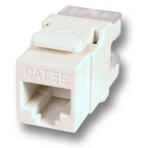 ECOLAN - Ecolan Utp Cat 5E Keystone Jack (12Ad.).