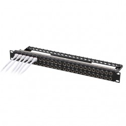 EFB - Efb Utp Cat 6 48 Port Patch Panel 1U.